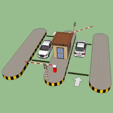 Kiểm soát xe ra vào sân bay
