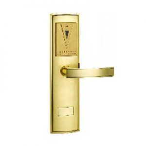 Khóa cửa thẻ từ VN-8019 Vàng