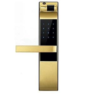 Khóa cửa vân tay Yale YDM 4109 Gold